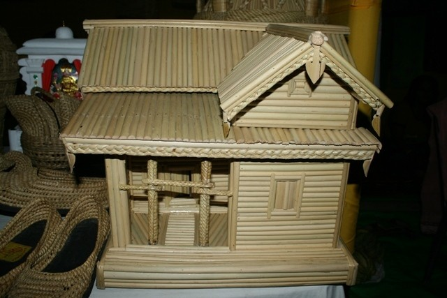 Miracle Of Kouna Craft An Artistic Model Of House Designed By The