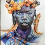 pencil color~ by rajivkumar narengbam