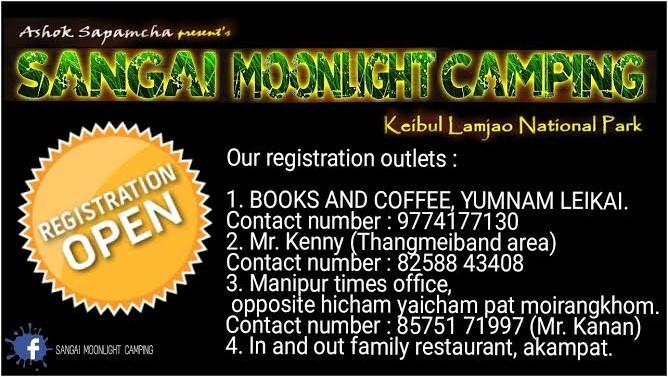 Sangai Moonlight Camping Booking Details